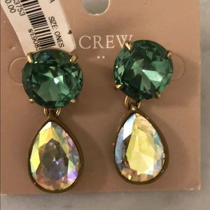NWT JCrew gem earrings